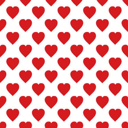 Hearts pattern The background for printing on fabric, textiles, layouts, covers, backdrops, backgrounds and Wallpapers, websites, Vector illustration seamless Ilustração