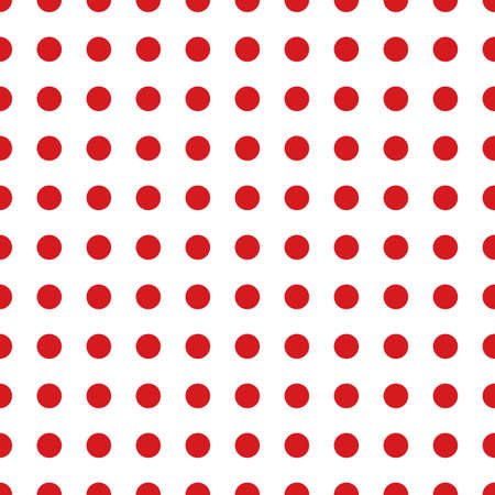 Polka dot seamless pattern. Dotted background with circles for printing on fabric, Wallpaper, textile design covers. Vector illustration Illustration