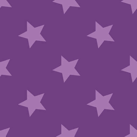Pattern with stars. Seamless vector illustration. Retro, vintage background