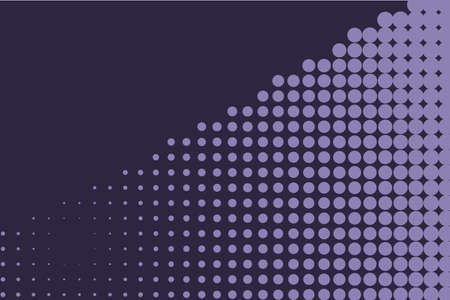 rounds: Comic background. Monochrome halftone background. Indigo, dark blue and purple color. Panels with dots, points, circles, rounds. Design element for web banners, posters, cards, wallpaper, sites.