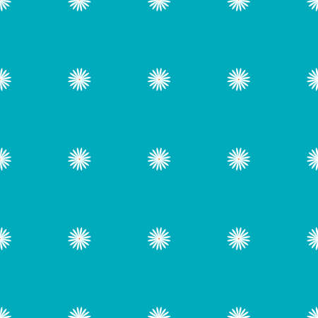 Simple blue pattern with daisies. Seamless background for web page, Wallpaper, print on paper, fabric, surfaces, scrap-booking, patchwork. Vector illustration