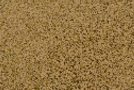 glittery: Comic pattern. Halftone background. Glittery, brown, gold color. Dotted retro backdrop, panels with dots, points, circles, rounds. Design element for web banners, posters, cards, wallpaper, sites.