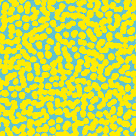 disposed: Randomly disposed point, spots, polka dot texture.