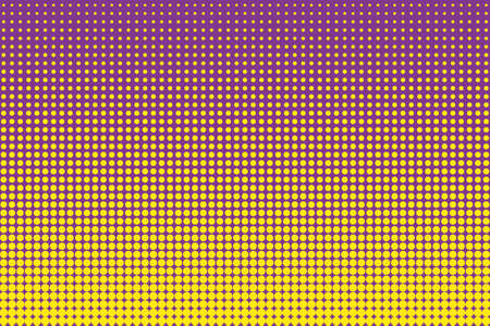 Comic pattern. Halftone background. Purple, lilac color. Dotted retro backdrop, panels with dots, points, circles, rounds. Design element for web banners, posters, cards, wallpaper, sites. Illustration