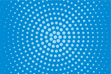 Comic pattern. Halftone background. Blue color. Dotted retro backdrop, panels with dots, points, circles, rounds. Design element for web banners, posters, cards, wallpaper, sites.