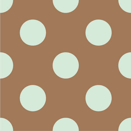Polka dot seamless pattern. Dotted background with circles, dots, rounds Vector illustration Flat Scandinavian style for print on fabric, gift wrap, web backgrounds, scrap booking, patchwork