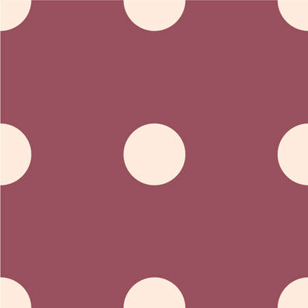 Polka dot seamless pattern. Dotted background.