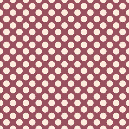 Polka dot seamless pattern. Dotted background with circles.