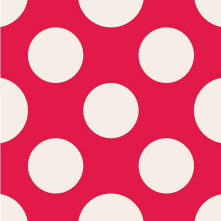 Polka dot pattern. Illustration