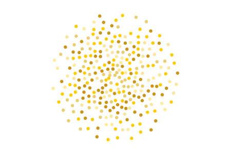Goldenes Glittermuster.
