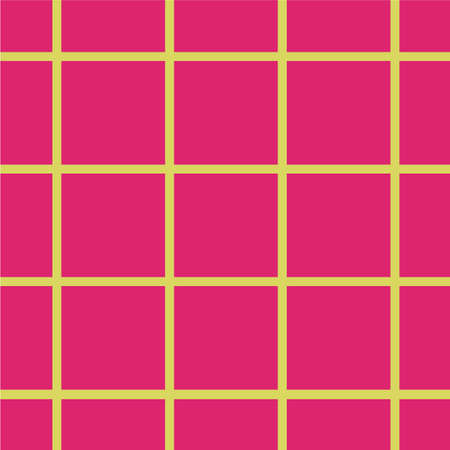Yellow and pink grid pattern.