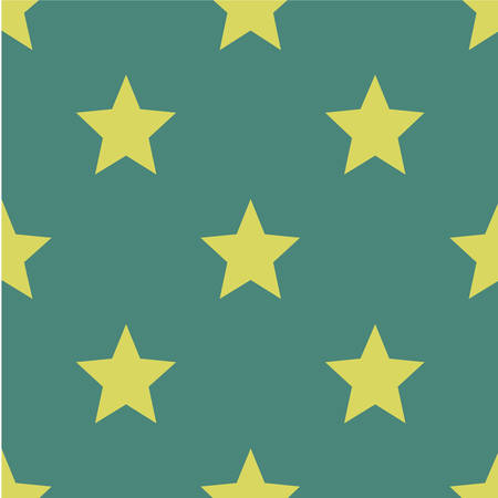 Pattern with stars. Seamless vector illustration. Retro, vintage background Vector illustration Flat Scandinavian style for print on fabric, gift wrap, web backgrounds, scrap booking, patchwork