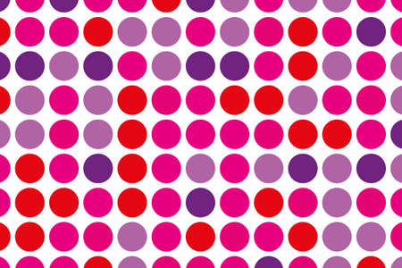 Dotted background with circles, dots, point large. Design element for web banners, posters, cards, wallpapers. Vector illustration. Illustration