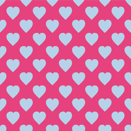 hearts. gift wrap, web backgrounds, scrap booking, patchwork Vector illustration Seamless background Illustration