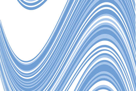 Wavy pattern. Geometric background. Vector illustration Blue color. Illustration