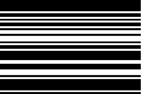 Pattern with black and white horizontal stripes. Illustration