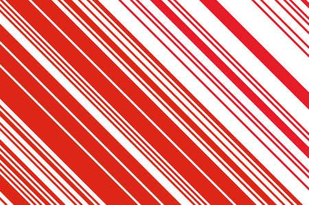Weihnachtskerze, Lutschermuster. Gestreifter diagonaler Hintergrund mit schrägen Linien. Stripy Hintergrund für den Druck auf der Verpackung. Vektor-illustration Standard-Bild - 91757704