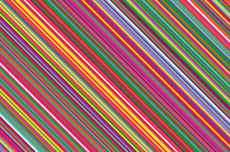 Christmas candle, lollipop pattern. Striped diagonal background with slanted lines. Stripy backdrop for print on wrapping. Vector illustration Colorful rainbow Illusztráció