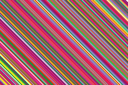 Bougie de Noël, modèle de sucette. Fond diagonal rayé avec des lignes inclinées. Toile de fond rayée pour l'impression sur l'emballage. Illustration vectorielle Arc-en-ciel coloré Banque d'images - 91795786