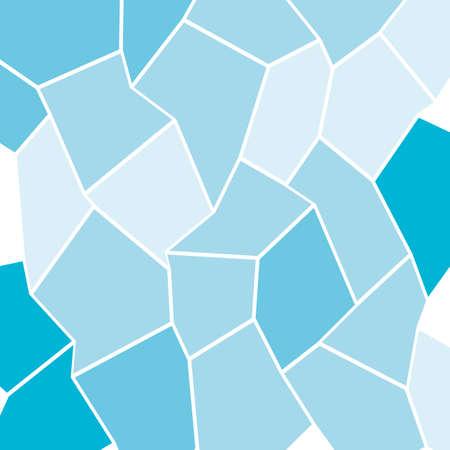 Mosaic texture. Geometric background of curves irregular triangles rectangles. Vector illustration Illustration