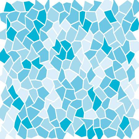 Mosaic texture geometric of curves illustration.
