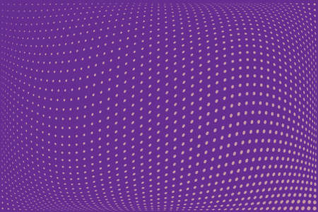 Abstract futuristic halftone pattern. Comic background. Dotted backdrop with circles, dots, point small scale. Design element for web banners, posters, cards, wallpapers, sites. Purple. lilac color