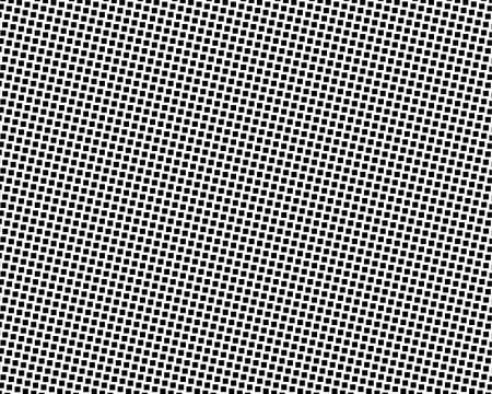 Abstract geometric pattern with small squares. Design element for web banners, posters, cards, wallpapers, backdrops, panels Black and white color Vector illustration Vettoriali