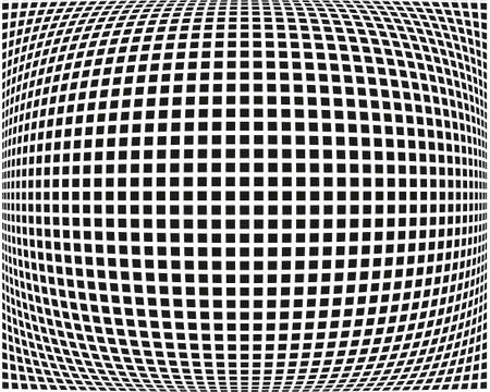 Abstract geometric pattern with small squares. Design element for web banners, posters, cards, wallpapers, backdrops, panels. Black and white vector illustration.