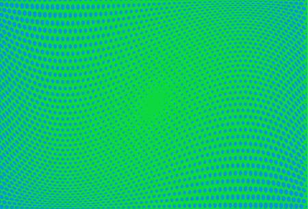 Abstract futuristic halftone pattern. Wavy background. Dotted backdrop with circles, dots, point small scale. Design element for web banners, posters, cards, wallpapers, sites. Green,blue color.