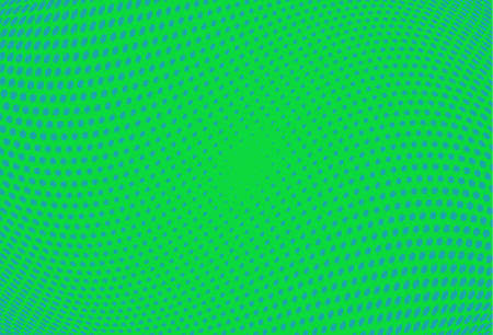 Abstract futuristic halftone pattern. Wavy background. Dotted backdrop with circles, dots, point small scale. Design element for web banners, posters, cards, wallpapers, sites. Green,blue color Illustration