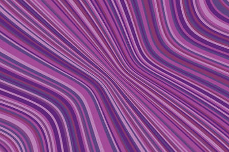 Abstract background with oblique wavy lines. Vector illustration. Different shades of purple, violet color