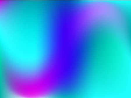 Gradient background. Vector illustration. Abstract creative concept  multicolored blurred backdrop. Smooth blend banner template. For Web and Mobile Applications, social media, modern decoration Illustration
