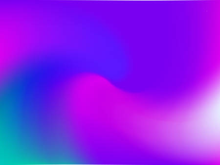 Gradient abstract background blurred bright colors, colorful rainbow pattern. Multicolored fluid shapes for web and mobile applications, social media, modern decoration vector illustration.