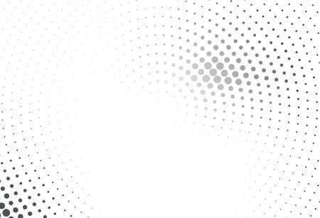Abstraktes futuristisches Halbtonmuster . Comic-Hintergrund