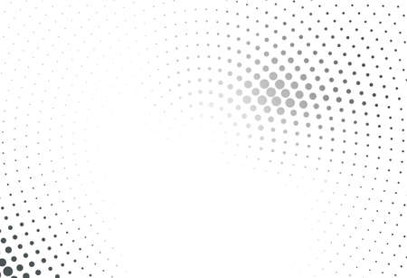 Abstract futuristic halftone pattern. Comic background.