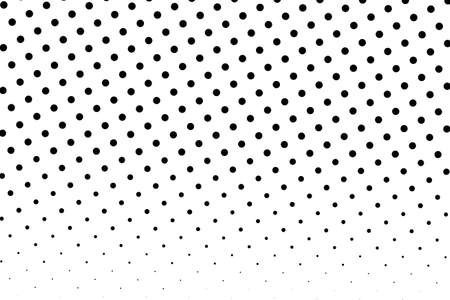 Halftone background. Digital gradient. Dotted pattern with circles, dots, point small scale. Design element for web banners, posters, cards, wallpapers, sites, panels. Ilustrace