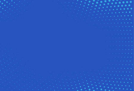 Abstract blue halftone pattern futuristic panel. Grunge dotted backdrop with circles, dots, point. Design element for web banners, posters, cards, wallpapers, sites vector illustration.