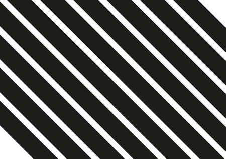 Black stripes on white background. Striped diagonal pattern Vector illustration of  Background with slanted lines