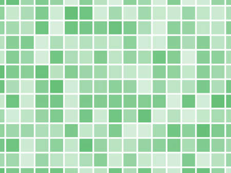 Abstract geometric pattern with small squares. Design element for web banners, posters, cards, wallpapers, backdrops, panels Different shades of green color Vector illustration