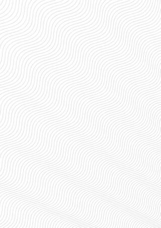Guilloche background. A simple pattern with wavy lines. Moire ornament. Monochrome guilloche texture with waves.