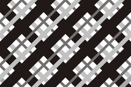 Geometric seamless pattern with intersecting lines. 向量圖像