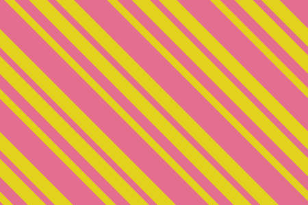 Seamless pattern. Pink Stripes on yellow background. Illustration