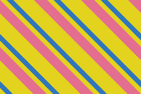 Seamless pattern of colorful diagonal stripes