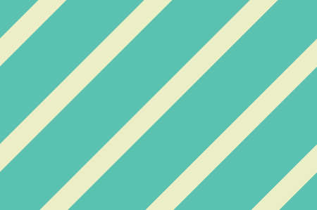 Seamless pattern. Green Stripes on yellow background. Striped diagonal pattern For printing on fabric, paper, wrapping, scrapbooking, banners Background with slanted lines Vector illustration
