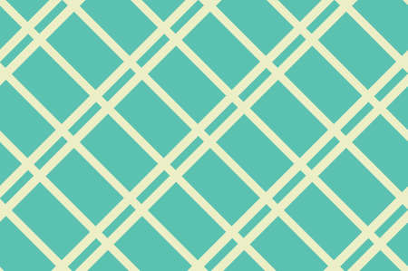 Geometric seamless pattern with intersecting lines, grids, cells. Criss-cross background in traditional tile style. For printing on fabric, paper, wrapping, scrapbooking, banners Vector illustration Ilustrace