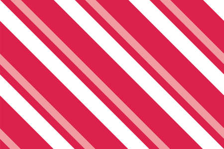Seamless pattern. Pink-red Stripes on white background. Striped diagonal pattern For printing on fabric, paper, wrapping, scrapbooking, websites, banners Background with slanted lines