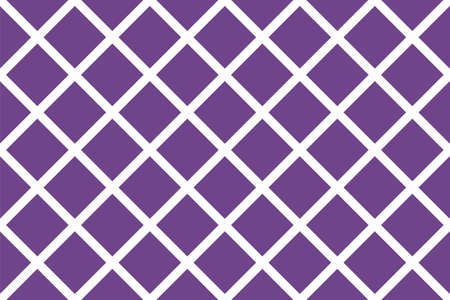 Criss-cross background in traditional tile style. For printing on fabric, paper, wrapping, scrapbooking, banners Geometric seamless pattern with intersecting lines, grids, cells. Vector illustratio