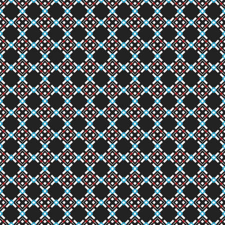 Rhombic seamless pattern. Block repeat background. Geometric pattern in traditional, ethnic style. Design a mosaic, a kaleidoscope. Moroccan tiles. 스톡 콘텐츠