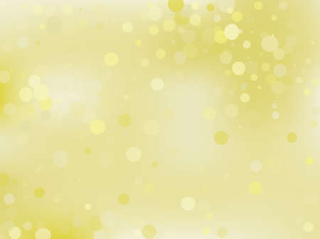 Golden yellow gradient background with bokeh effect. Abstract blurred pattern. Light background for banners, newsletters, social media, screensavers, covers. Vector illustration