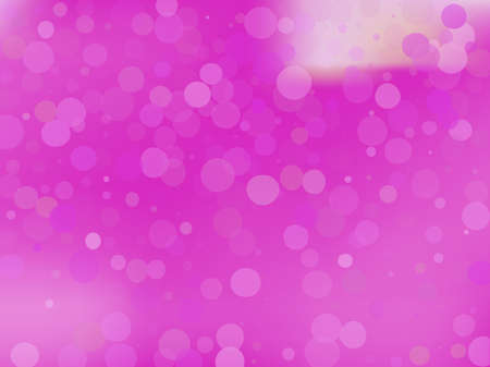 Pink-violet gradient background with bokeh effect. Abstract blurred pattern. Overlapping transparent bubbles, circles, point. Light backdrop for banners, social media, screensavers Vector illustration Иллюстрация